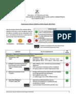 Governance Cluster Initiatives Q2 2014 Status Report