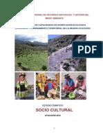 Estudio Tematico - Socio Cultural (Ayacucho) 2012