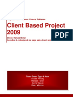Team Green Eggs & Ham Client Based Project