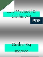 History Gothic ART