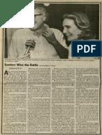 Sanders Wins the Battle | Vanguard Press | May 29, 1983