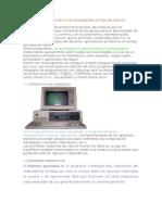UNIDAD 1 Introducción a La Computación y Hoja de Cálculo