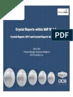 Crystal Reports in BI