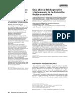 disfuncion tiroidea subclinica