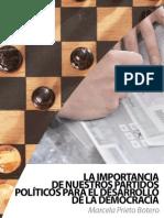 3. La Importancia de Nuestros Partidos Politicos Para El Desarrollo de La Democracia