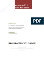 informe fluidos