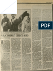 Public Distrust Defeats Bond | Vanguard Press | Dec. 15, 1985