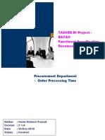 Fs Bayan Bi Procurement Kpi Pr003 - Order Processing Time v02[1]Updated