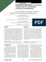 #Implantação de Programas de Gerenciamento de Resíduos Químicos Laboratoriais Em Universidades- Análise Crítica e Recomendações_Scielo_by_Tiago Santos