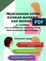 penatalaksanaan sistem rujukan maternal