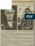 (Sanders Announces Fourth Run for Mayor) | Vanguard Press | Dec. 7, 1986