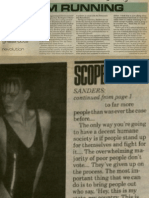 Why I'm Running | Vanguard Press | May 18, 1986