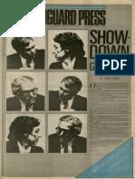 Showdown for Governor | Vanguard Press | Nov. 2, 1986