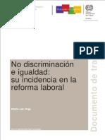 No Discriminación e Igualdad Su Incidencia en La Reforma Laboral Wcms_099353