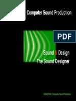 03 the Sound Designer