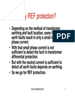 High Impedance REF Protection