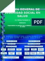 Sistema General de Seguridad Social en Salud Sena