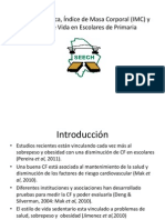 Condición Física, Índice de Masa Corporal (
