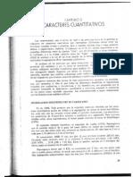 Mga Cap 3 Caracteres Cuantitativos Cap 4 Componentes de Varianza