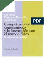 Competencia en El Conocimiento y La Interacción Con El Múndo Físico