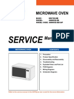 Service Manual Amw83e-Sb Xap 05297a