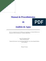 Manual de Metodos de Análisis de Agua