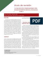 Anemia en Portadores de VIH (2010)