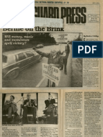 Bernie on the Brink | Vanguard Press | Nov. 3, 1988