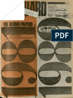 The Bernie Papers | Vanguard Press | Oct. 12, 1989