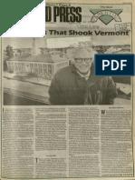 Eight Years That Shook Vermont | Vanguard Press | Mar. 16, 1989
