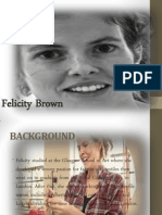 Felicity Brown Presentation