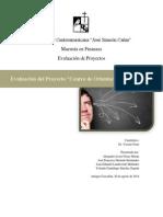 Evaluación de Proyecto Centro de Orientación Vocacional