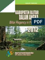 Blitar Dalam Angka 2012