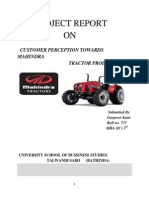 customer perception towards mahindra tractor products.docx