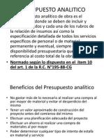 Clase Presupuesto Analitico Cronogramas Rc 195 88 Cg Formula Polinomica