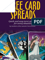 Aeclectic Three Card Tarot Spreads