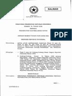 Peraturan Pemerintah No.76 Tahun 2008