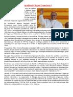 Biografia Del Papa Francisco I
