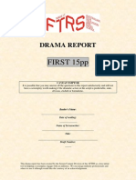 Drama Report First 15pp