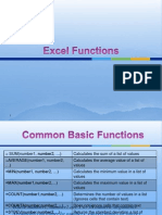 Excel-functions Very Important