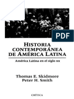SKIDMORE-SMITH  Historia Contemporanea De America Latina.pdf