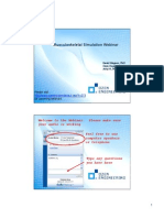 2009-07-24 Musculoskeletal Simulation Webinar