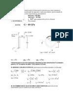 Flexion Variable - Seccion Circular Anular