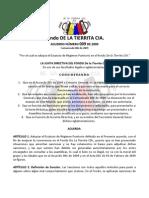 Acuerdo 009 de 2009 - Estatuto de Régimen Punitorio