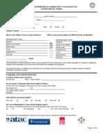 enrolment form 2015 draft 2