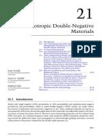 Isotropic double negative Metamaterial