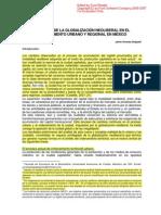 Efectos de La Globalizacion en El to Urb, En Mexico