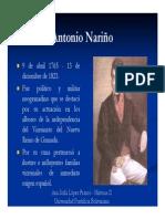 Unidad 3 Antonio Nariño - Ana Sofía López Franco