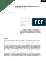 Critica Cultural y Cultura de Masas. La Institucionalizacion de Los Estudios Ante El Cambio Social Francisco Sierra Caballero