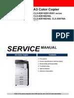 Samsung CLX-9201/9251/9301 series CLX-9201ND/NA, CLX-9251ND/NA, CLX-9301NA Service Manual (En)